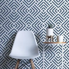 Unusual Diy Painted Tile Floor Ideas With Stencils That Anyone Can Do 03