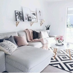 Attractive Small Living Room Decor Ideas With Perfect Lighting 19