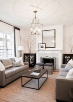Attractive Small Living Room Decor Ideas With Perfect Lighting 46