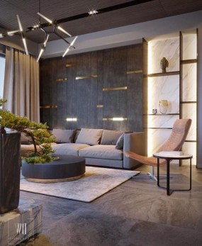 Attractive Small Living Room Decor Ideas With Perfect Lighting 52