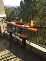 Casual Small Balcony Design Ideas For Spring This Season 19