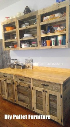 Chic Diy Projects Pallet Kitchen Design Ideas To Try 13