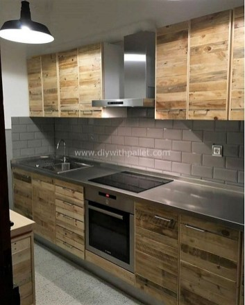 Chic Diy Projects Pallet Kitchen Design Ideas To Try 15