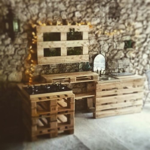 Chic Diy Projects Pallet Kitchen Design Ideas To Try 45