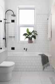 Chic Farmhouse Bathroom Desgn Ideas With Shower 01