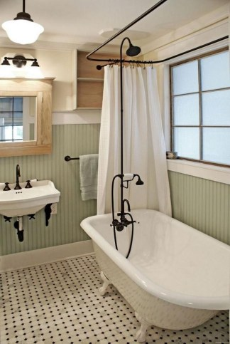 Chic Farmhouse Bathroom Desgn Ideas With Shower 08
