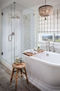 Chic Farmhouse Bathroom Desgn Ideas With Shower 38