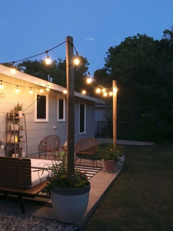 Classy Backyard Makeovers Ideas On A Budget To Try 48