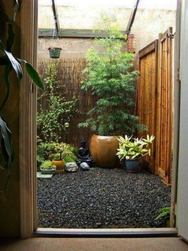 Dreamy Bamboo Fence Ideas For Small Houses To Try 12