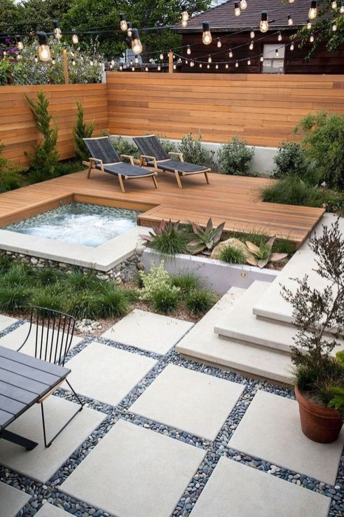 Gorgeous Backyard Landscaping Ideas For Your Dream House 48
