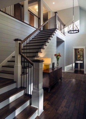 Gorgeous Wooden Staircase Design Ideas For Branching Out 33