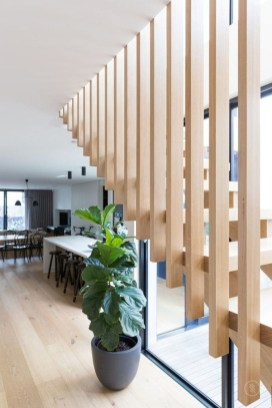 Gorgeous Wooden Staircase Design Ideas For Branching Out 34