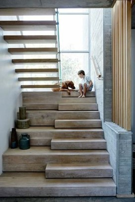 Gorgeous Wooden Staircase Design Ideas For Branching Out 35