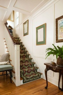 Gorgeous Wooden Staircase Design Ideas For Branching Out 36