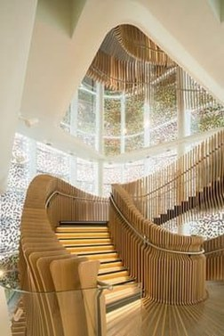 Gorgeous Wooden Staircase Design Ideas For Branching Out 41