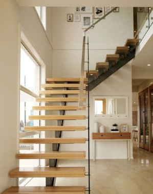 Gorgeous Wooden Staircase Design Ideas For Branching Out 44