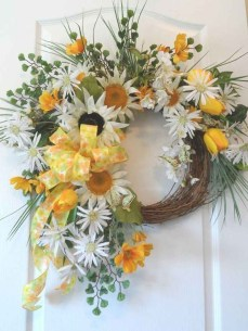 Hottest Summer Wreath Design And Remodel Ideas 02