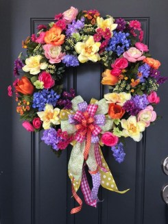 Hottest Summer Wreath Design And Remodel Ideas 16