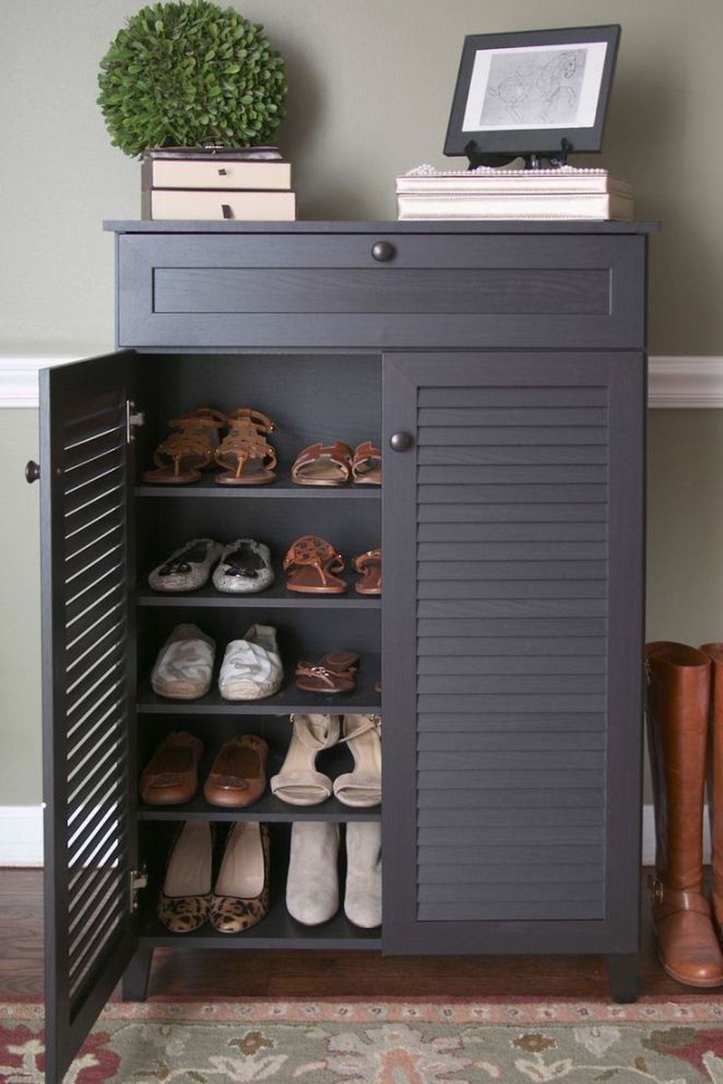 Latest Shoes Rack Design Ideas To Try 10