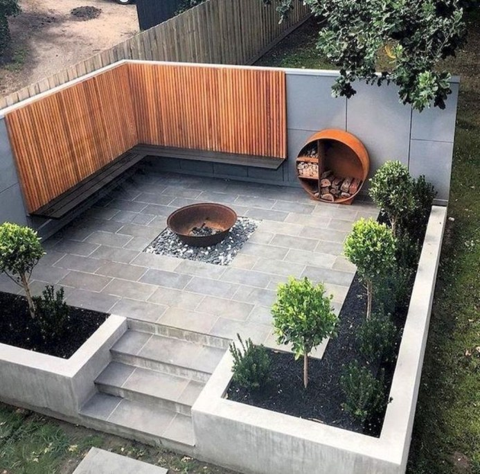 Newest Backyard Fire Pit Design Ideas That Looks Great 01