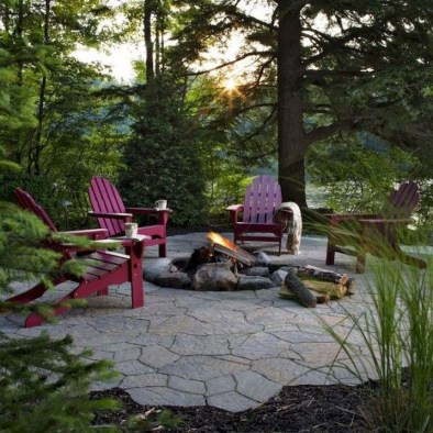 Newest Backyard Fire Pit Design Ideas That Looks Great 25