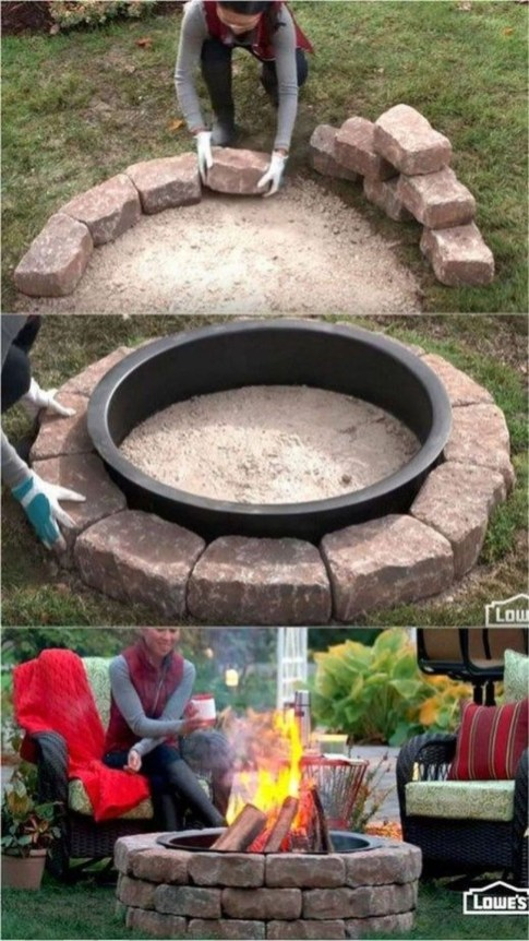 Newest Backyard Fire Pit Design Ideas That Looks Great 46