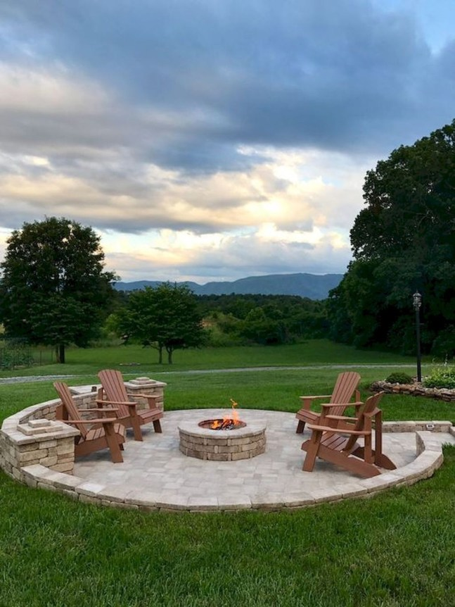 Newest Backyard Fire Pit Design Ideas That Looks Great 47