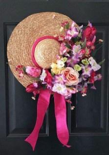 Newest Front Door Wreath Decor Ideas For Summer 14