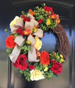 Newest Front Door Wreath Decor Ideas For Summer 17