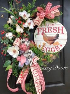 Newest Front Door Wreath Decor Ideas For Summer 23