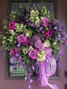 Newest Front Door Wreath Decor Ideas For Summer 30