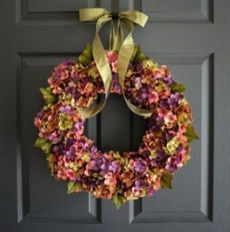 Newest Front Door Wreath Decor Ideas For Summer 47