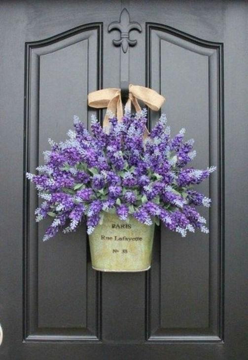 Newest Front Door Wreath Decor Ideas For Summer 54