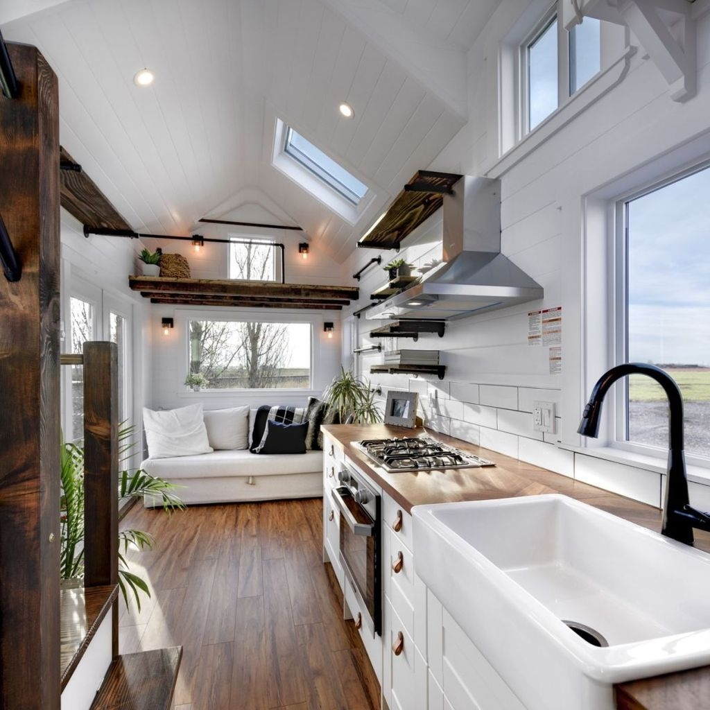 30+ Rustic Tiny House Interior Design Ideas You Must Have ...