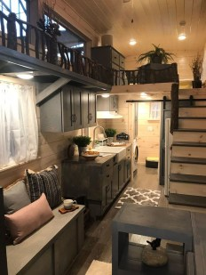 Rustic Tiny House Interior Design Ideas You Must Have 31