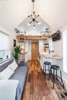 Rustic Tiny House Interior Design Ideas You Must Have 36