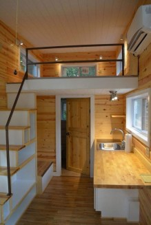 Rustic Tiny House Interior Design Ideas You Must Have 49