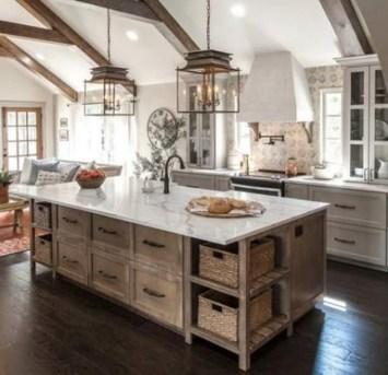 Trendy Fixer Upper Farmhouse Kitchen Design Ideas 22