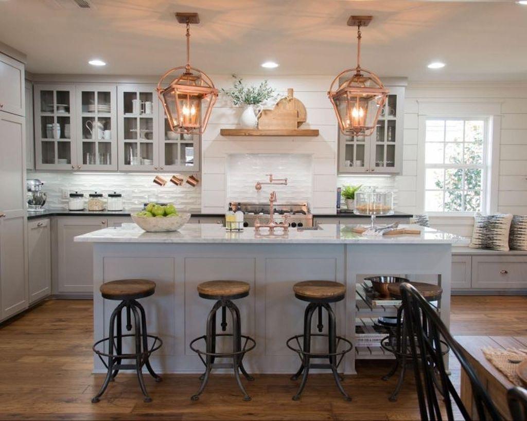 20+ Trendy Fixer Upper Farmhouse Kitchen Design Ideas ...