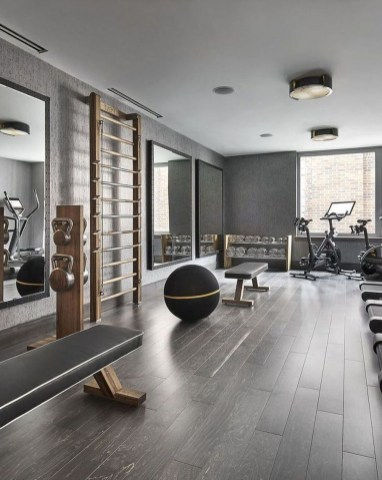 Astonishing Home Gym Room Design Ideas For Your Family 18