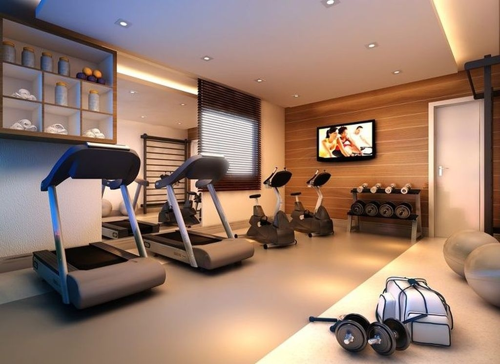 Astonishing Home Gym Room Design Ideas For Your Family 33