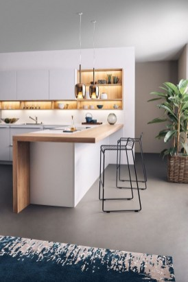 Awesome Wooden Kitchen Design Ideas You Must Have 44