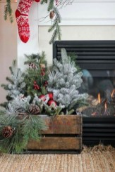 Charming Outdoor Décor Ideas For Christmas To Try 24