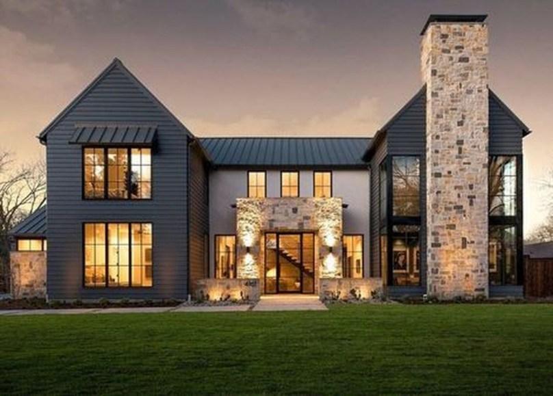 Cute Farmhouse Exterior Design Ideas That Inspire You 01