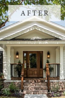 Cute Farmhouse Exterior Design Ideas That Inspire You 31