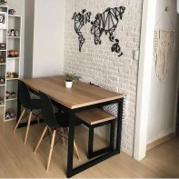 Oustanding Diy Decor Ideas To Upgrade Your Dining Room 02