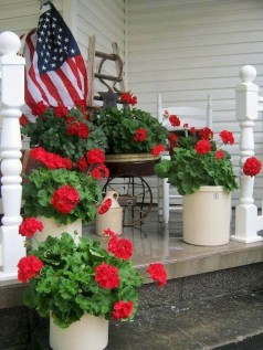 Perfect Porch Planter Design Idseas That Will Give Your Exterior A Unique Look 27