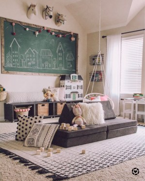 Pretty Playroom Design Ideas For Childrens 17