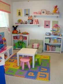 Pretty Playroom Design Ideas For Childrens 22