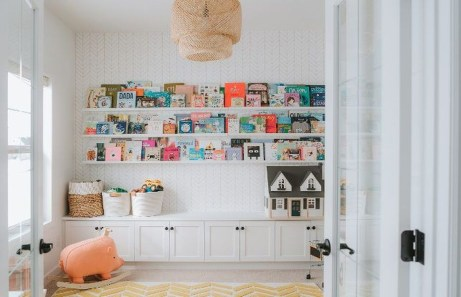 Pretty Playroom Design Ideas For Childrens 33